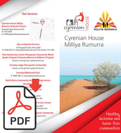 Cyrenian House Services   Brochures   Cyrenian House